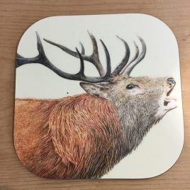 Stag Coaster  – Nadine Sutterby