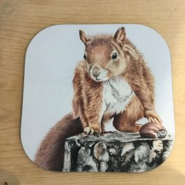 Nadine Sutterby- Squirrel Coaster